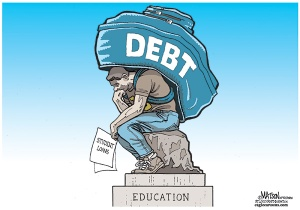 Student Debt Cartoon
