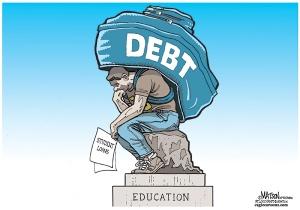 Student Debt Cartoon