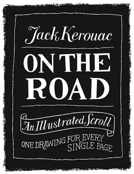 on the road illustrated