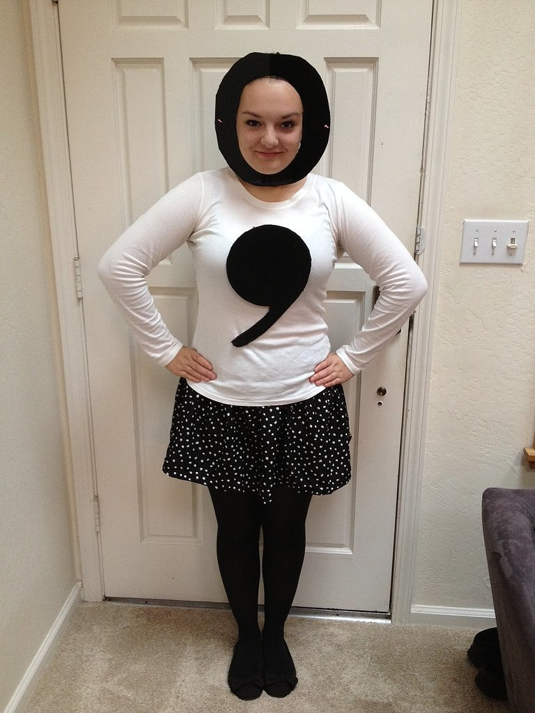 Semicolon  sc 1 st  eNotes Blog & eNotes Blogu201410 Bookish Costume Ideas for Halloween