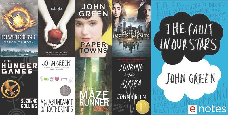 YA Novel Collage
