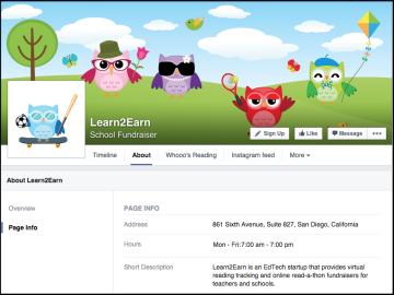 learn2earn page