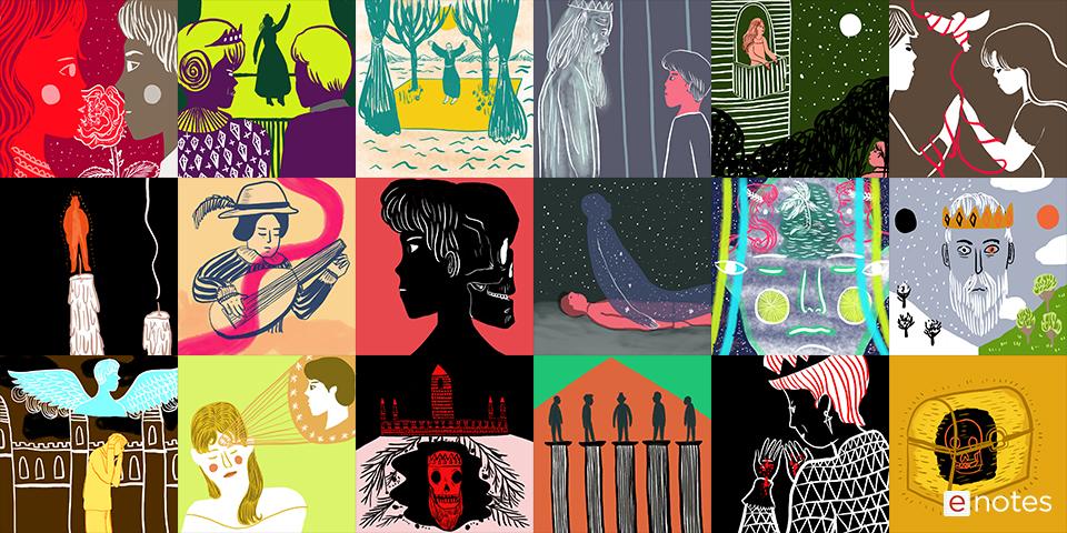 shakespeare yumi art collage