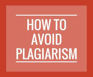 Copy of Avoid Plagiarism w-o logo