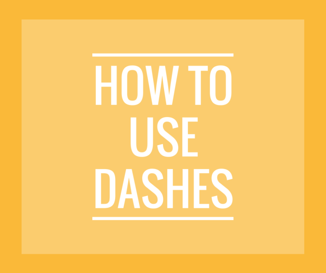 Use Dashes w-o logo