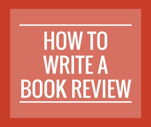 Write a Book Review enotes