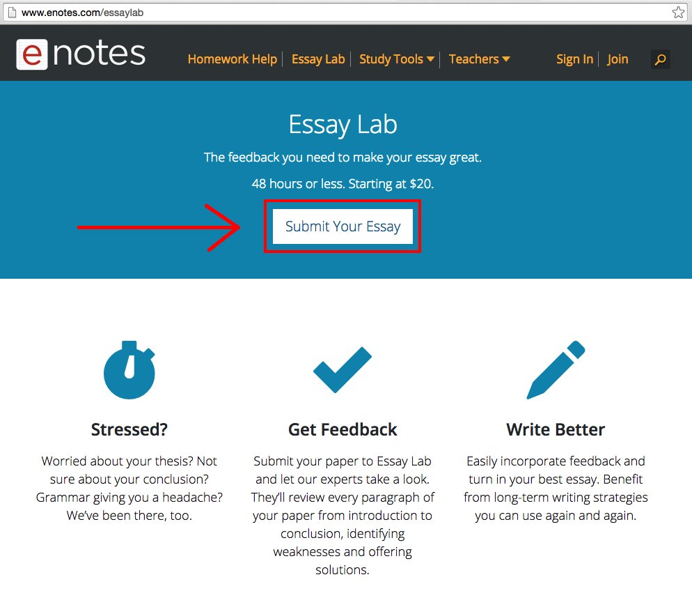 new to enotes essay lab enotes blog screen shot 2015 10 01 at 2 00 44 pm