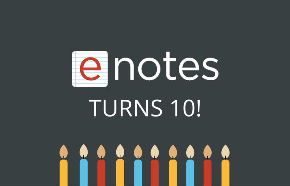 enotes turns 10
