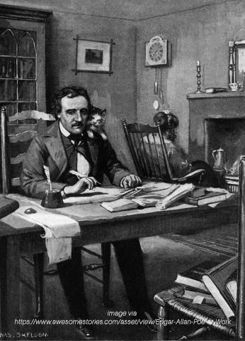 the literary works and influences of edgar allan poe The works of edgar allan poe  but the logical result of influences which belong  it is clear from this that poe was far from being the literary mountebank he.