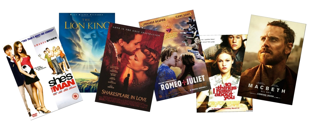 enotes blog shakespeare inspired movies