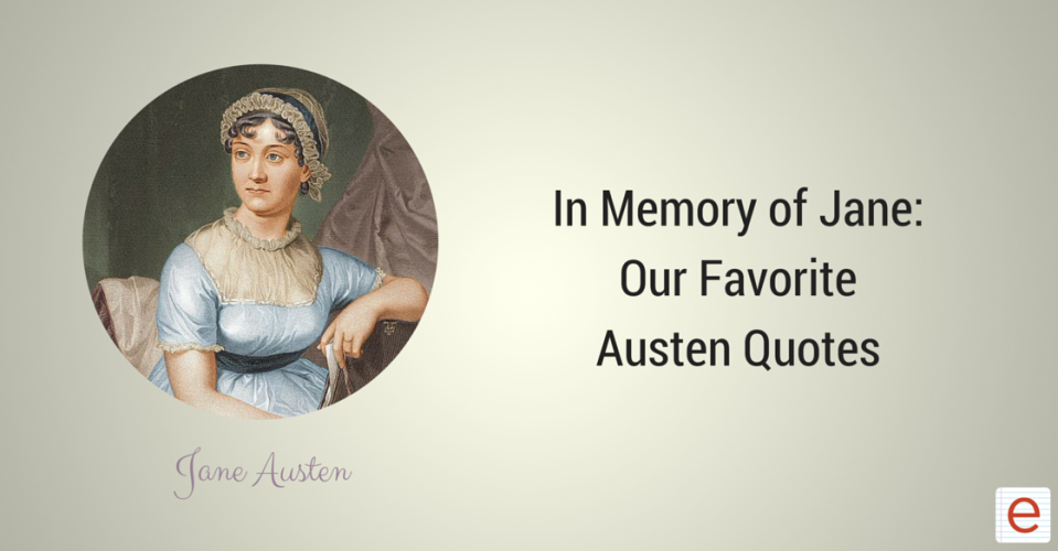 Jane Austen blog header