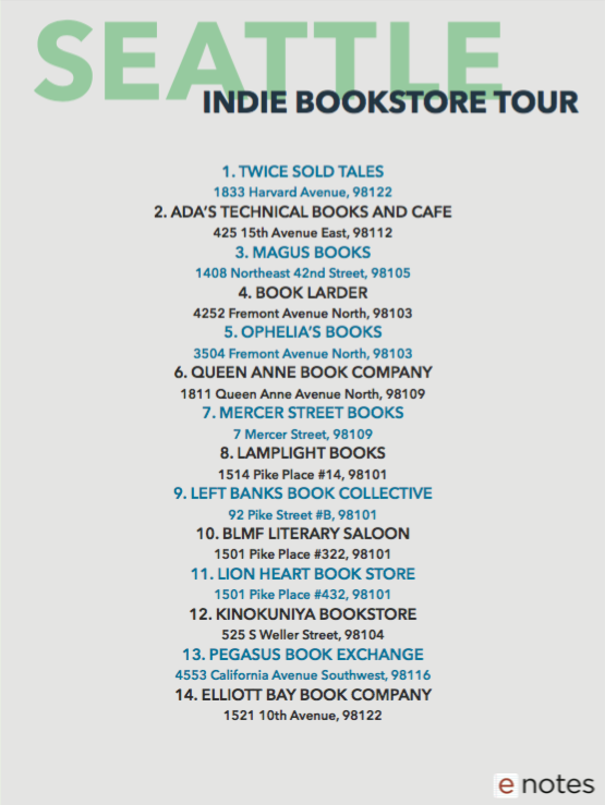 Bookstore Tour Sample Back
