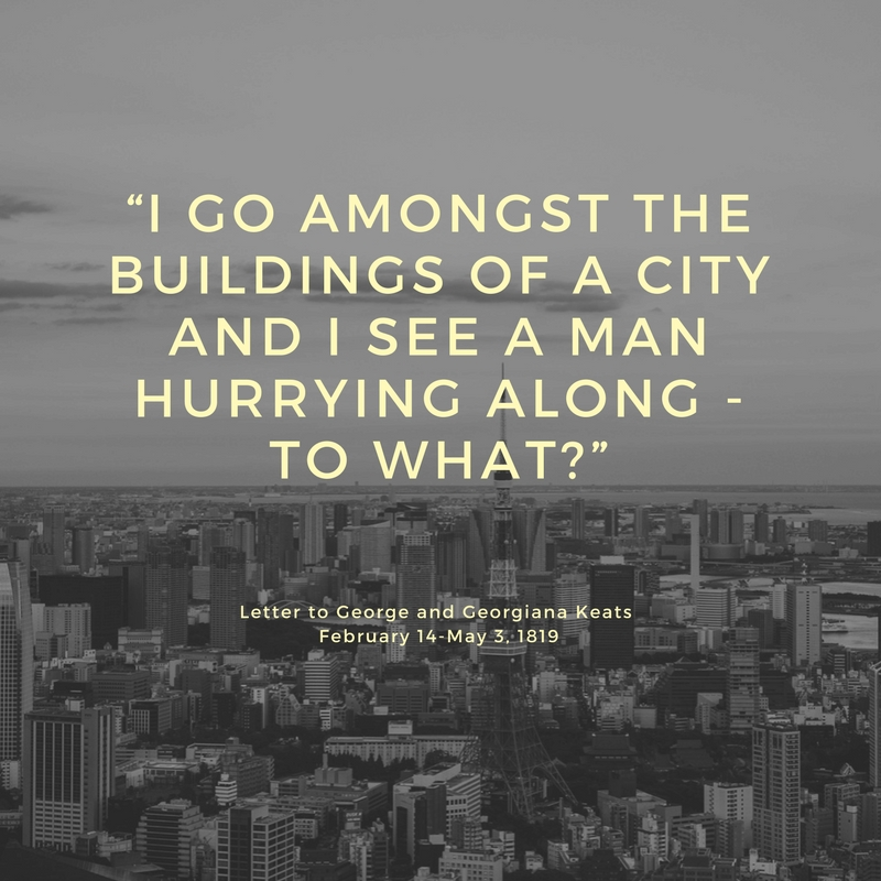 go amongst the city
